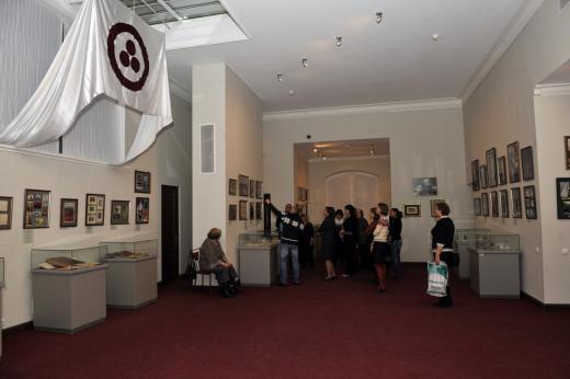 Торжественное открытие выставки ''Минувшего свидетели живые''