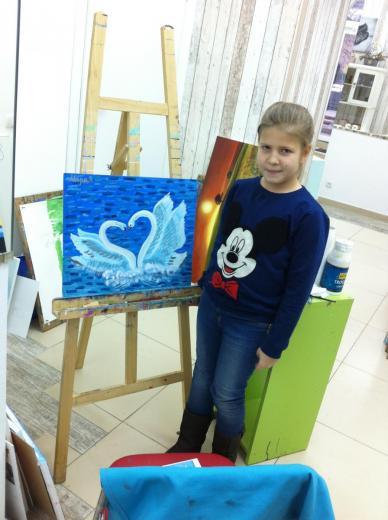 """Науменко Мария 8 лет """"Любовь спасет мир"""""""