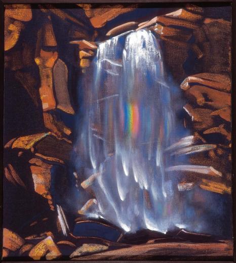 С.Н. Рерих. Радуга водопада. 1934. © Латвийский национальный художественный музе