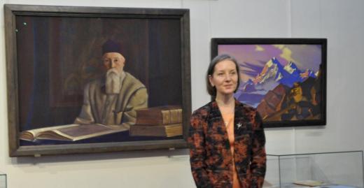 Сотрудник музея-института Анна Савкина