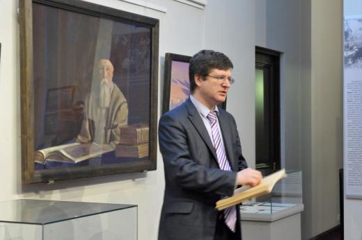 Заместитель директора музея-института семьи Рерихов Владимир Мельников
