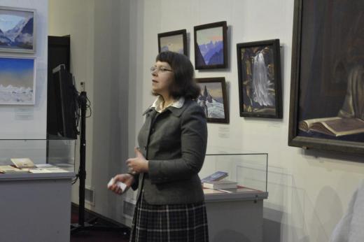 Главный хранитель фондов Рериха Латвийского национального художественного музея
