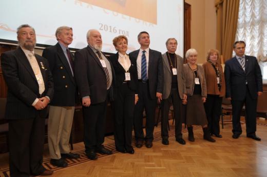 В зале Совета Государственного Эрмитажа состоялась торжественная церемония вручения Премии имени Николая Рериха за 2016 год