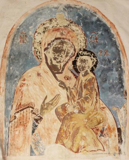 И. В. Тупейко. Копия Тихвинской иконы Божией Матери. 1560–1570-е гг. (первая тре