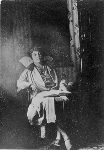 Е. И. Рерих. Фотография. Дарджилинг. 1924. Музей-институт семьи Рерихов.