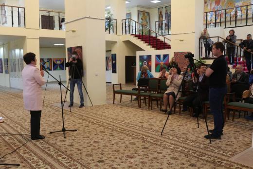 В г. Нефтекамске открылась выставка работ израильского художника Иосифа Капеляна