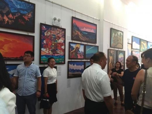 Музей-институт семьи Рерихов принял участие в выставке, посвящённой русской эмиграции начала XX века (г. Харбин)