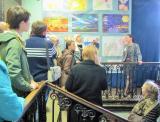 Экскурсия по выставке - Дети Донбасса рисуют мир. Проводит Мария Чеснокова