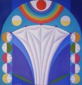 И. Х. Капелян. Цветы сада М. 1998. Холст, масло